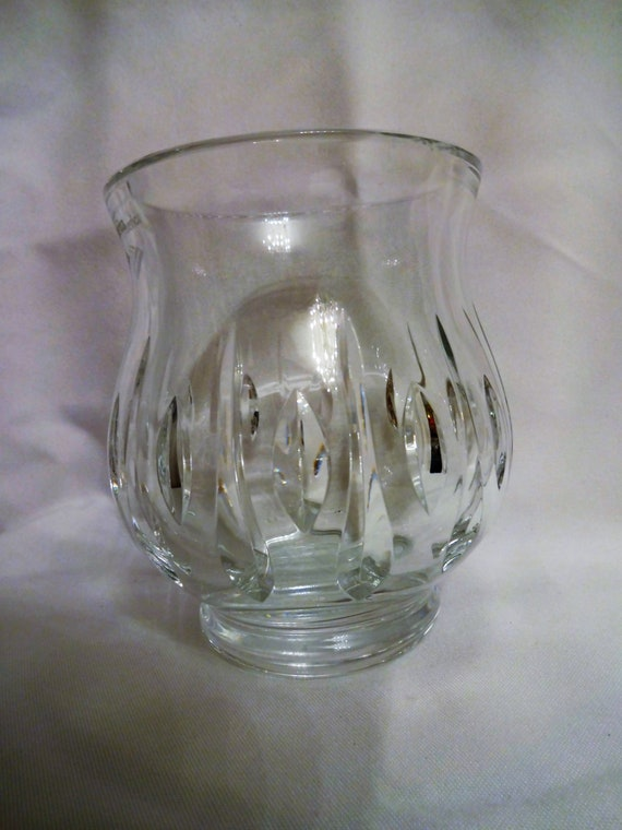 Waterford Crystal Vase Made For Bank Of America Etsy