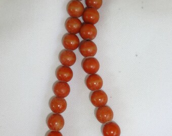 Necklace Amber Color
