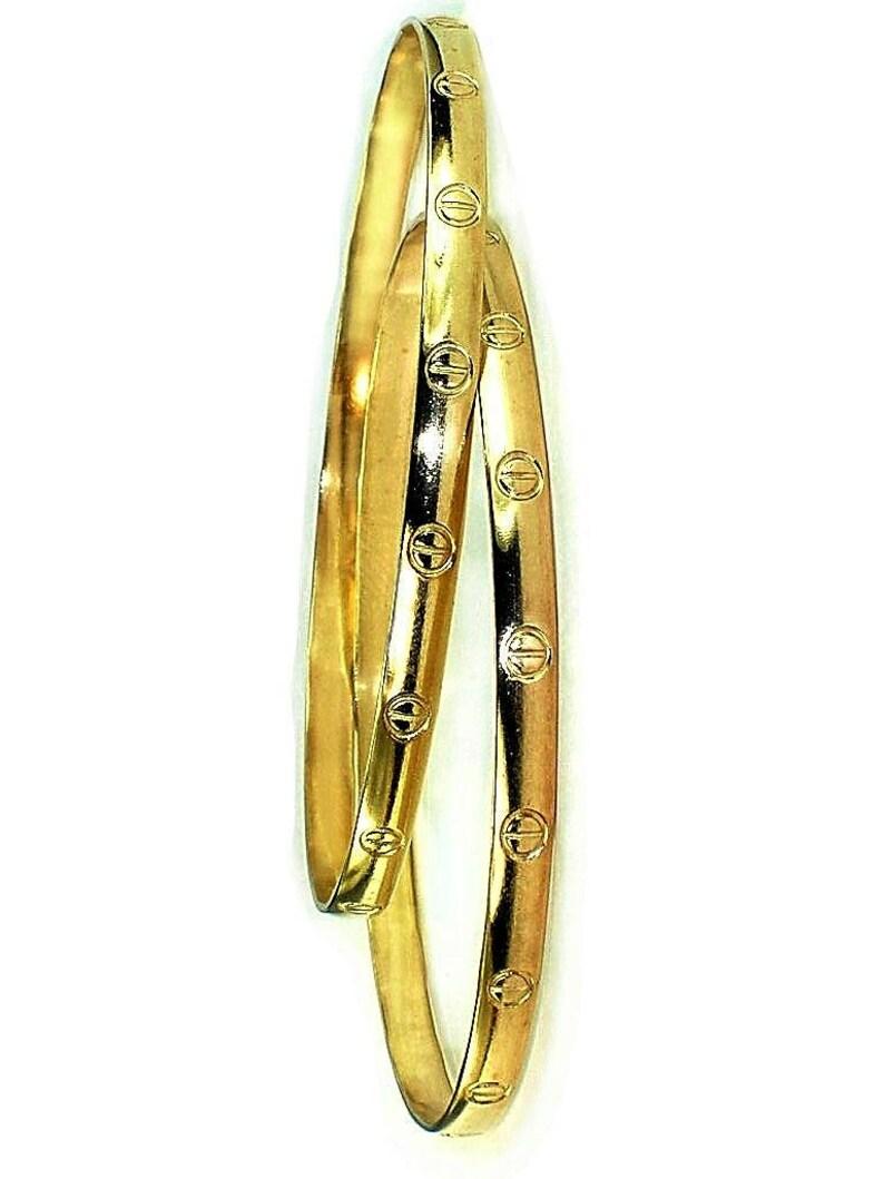 420edbcc3c4 Bogo / Gold Bangles / Women S, M, L, XL bangles / Genuine 1/20 -14k yellow  gold filled / Sell by pair - same size / Gold Bangles