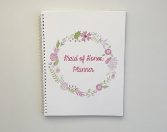 maid of honor planner bridal shower planner bachelorette bash planner maid of honor checklist maid of honor proposal maid of honor gift