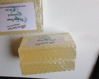 Honey Soap by Down the Lane Farm Chemical Free Natural