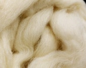 1 lb Cheviot combed top, roving, spinning fiber, felting fiber, by the pound