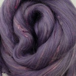 Legacy Merino/Bamboo tweed combed top, 4 ozs, 23 micron, roving, spinning fiber, felting fiber, luxury fiber, spinning fiber, braid, tweed