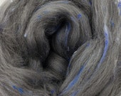 Fable Merino/Bamboo tweed combed top, 4 ozs, 23 micron, roving, spinning fiber, felting fiber, luxury fiber, spinning fiber, braid, tweed