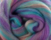 Once upon a time, 23 micron, 4 oz braid, merino, combed top, roving, spinning fiber, hand spinning fiber, fibre, angelina, merino