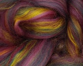 Nebula Merino/bamboo, 4 oz braid, combed top, roving, spinning fiber