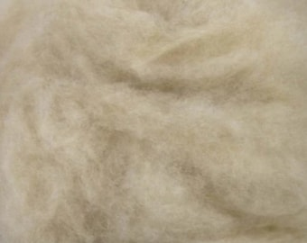 Camel Down, 4 oz, carded roving, hand spinning fiber, baby camel, low micron