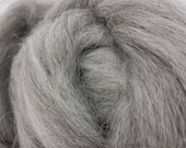 1 lb Grey Icelandic combed top, roving, spinning fiber, felting fiber, lopi yarn, wool, by the pound