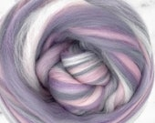 Sugar& Spice Merino, 4 oz braid, combed top, roving, spinning or felting fiber, custom blend