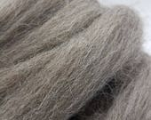 1 lb Grey Jacob combed top, roving, spinning fiber, felting fiber, wool, by the pound