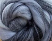 Tempest, 23 micron merino, 4 oz braid, combed top, roving, spinning fiber, custom blend