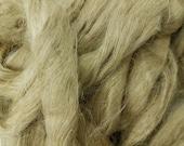 1 lb Flax, combed top, roving, spinning fiber, linen, fiber, natural color, plant fiber, vegan, bast fiber