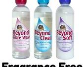 Unicorn, Unscented, Beyond Fibre Wash, Beyond Clean, Beyond Soft, Power Scour, 16 ozs, fiber wash, soap, laundry, yarn wash, combing milk