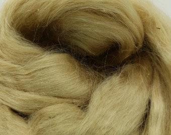 1 oz Tussah Silk, spinning fiber, roving, luxury blending fiber