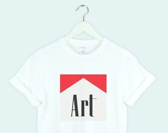 5bf0be87ce9 Art shirt white Aesthetic Shirt Tumblr Trendy tshirt Pinterest gift