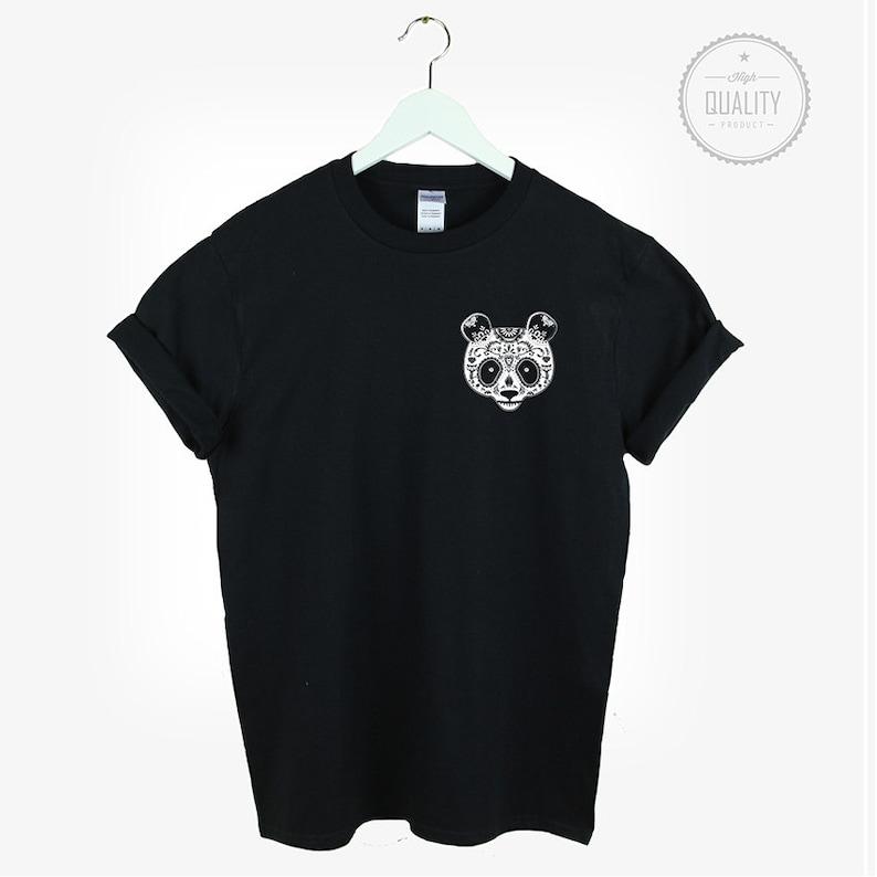 Mexican Candy Panda T Shirt Shirt Tee Unisex Mens Womens Aztec Etsy