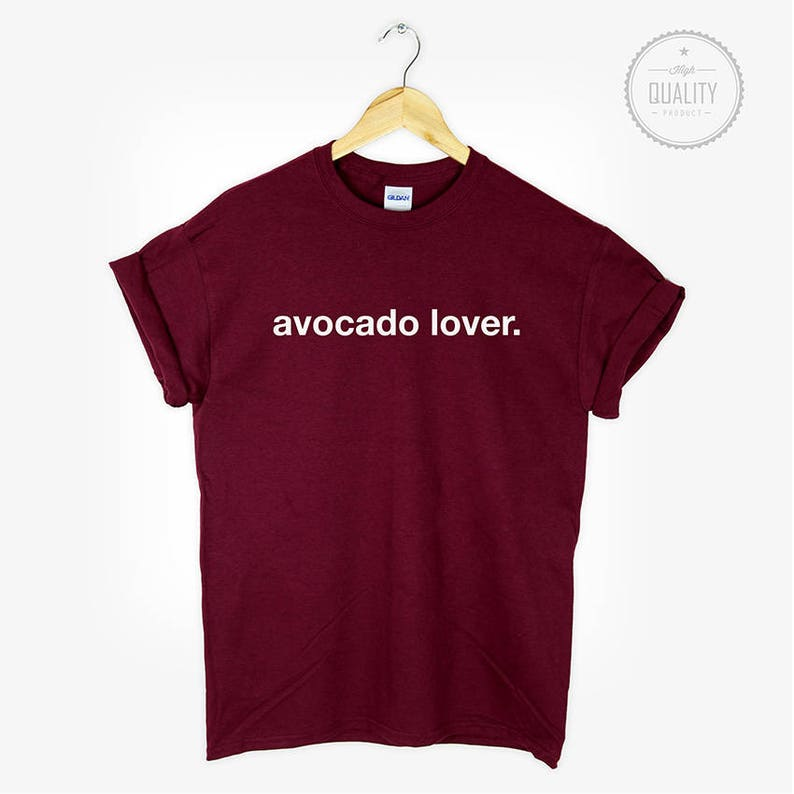 85e2e31cf1e1 AVOCADO LOVER t-shirt shirt tee unisex men women tumblr | Etsy