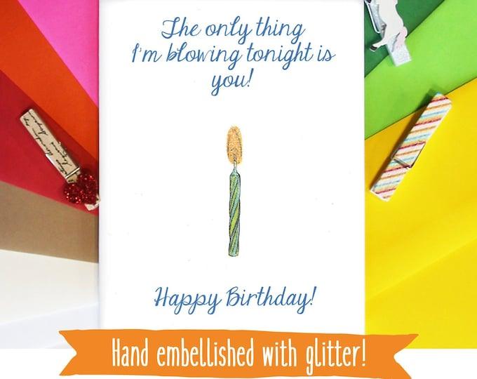 Funny Birthday Card / Birthday Card for Him / Funny Birthday Gift / Gay Birthday Card