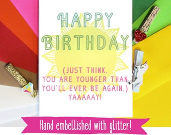 Birthday Card for Best Friend, Birthday Card Funny, Birthday Card for Her