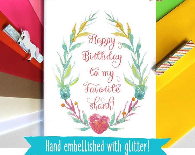 Funny Birthday Card for Best Friend, Birthday Gift For Her