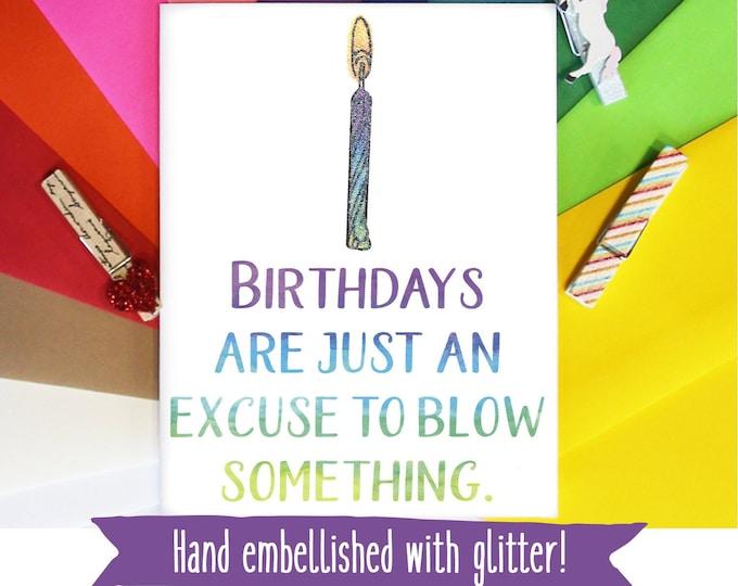 Funny Birthday Card for Boyfriend / Birthday Card for Husband / Funny Birthday Gift for Him