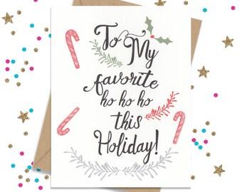 Funny christmas card funny holiday card card for her card holiday card for her funny christmas card holiday cards christmas cards card for bestfriend funny holiday cards holiday greetings m4hsunfo