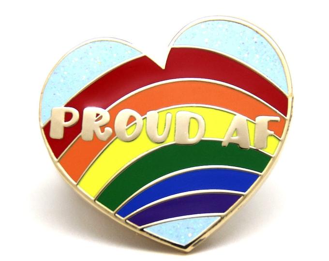 Gay Pride Enamel Pin