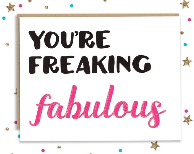 Bestfriend Card, Card for Friend, Snarky Card, bestfriends gift, Funny Greeting Card, Anniversary Gift, Birthday Card, Card for Her