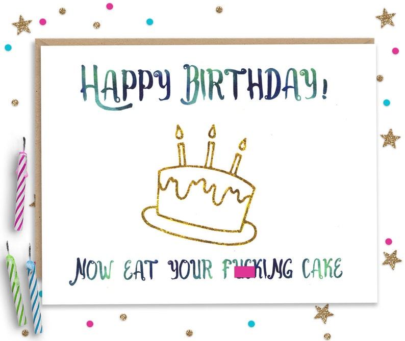 Happy Birthday Card Funny Greeting