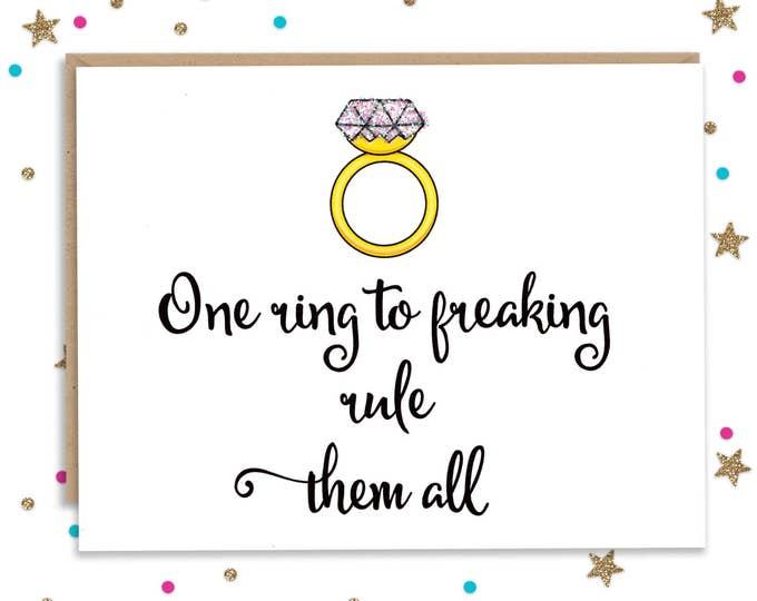 Card for Wedding, Newlywed Gift, Wedding Card, Wedding Shower, Card for Bride, Card for Groom, Wedding Card Funny, Funny Card