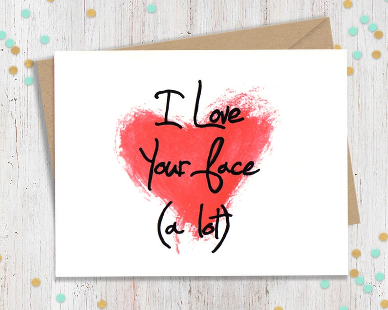 Funny Valentine Valentines Day Card Funny Card for Him image 0