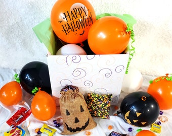 Halloween Gift Box - Trick or Treating -  Quarantine Party in a Box - Social Distancing Gift - Birthday Gift for Best Friend
