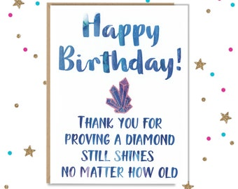 Funny Birthday Card For Her