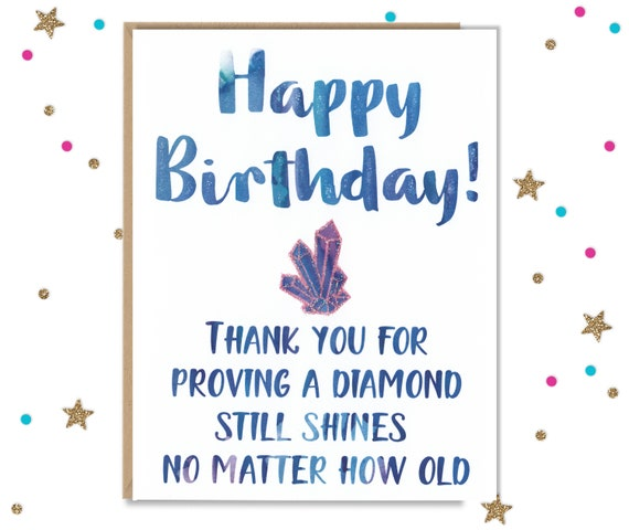 Funny Birthday Card For Her Etsy