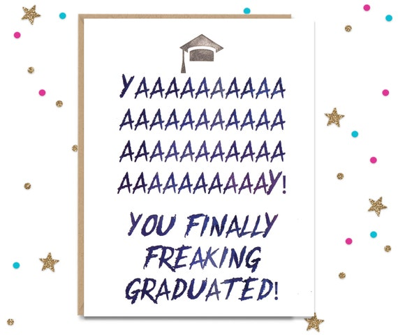 graduation card card for graduate congratulations card etsy