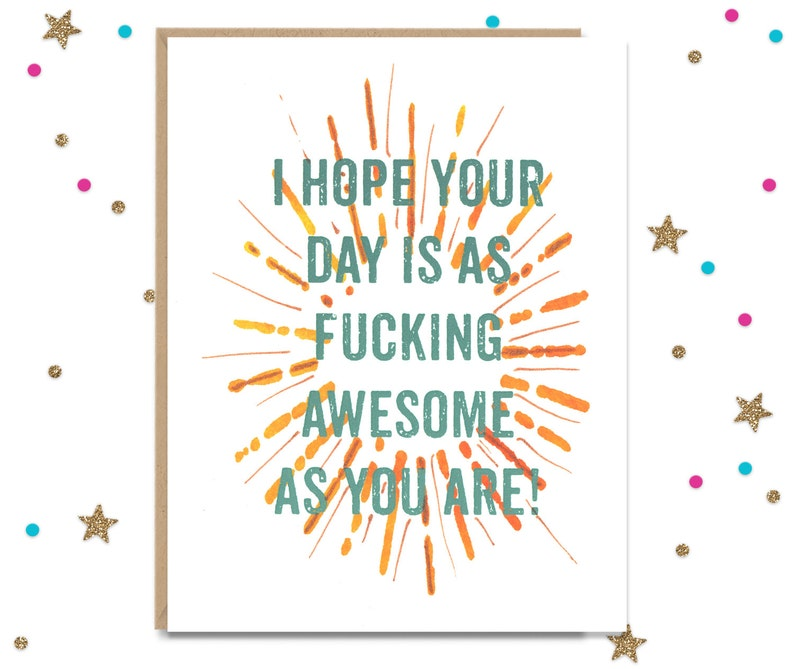 Funny Card for Card for Her Just because Card for Him Mature Greeting Card I Love You Card Card for friend Funny Greeting Pick Me Up