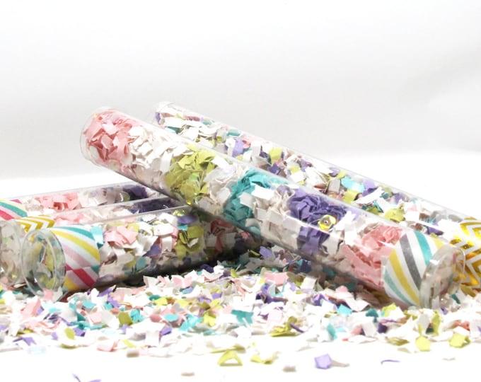 Unicorn Party, Unicorn Rainbow, Rainbow Party, Party Poppers, Confetti Wands, Rainbow Birthday, Unicorn Party Decor,