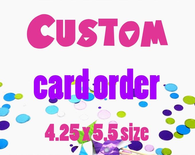 Custom Artwork Card