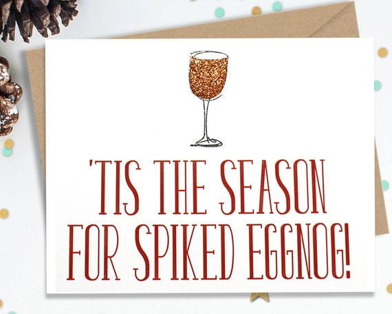 Mature, Funny Holiday Card, Christmas Card, Christmas Gift, Holiday Gift, Funny Greeting, Funny Card, Happy Holidays, FourLetterWordCards