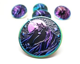 Rainbow Metal Unicorn Enamel Pin - Holiday Gift for Unicorn Lover - Stocking Stuffer - LGBTQ Pride