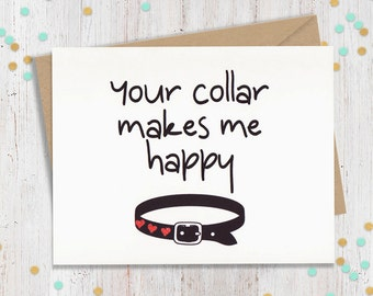 Kinky Card, Funny Card, BDSM Card,Sexy Cards, Funny Greeting, Love Card, Love Note, Funny Cards, Kinky Card, Kinky Greeting, Funny Note