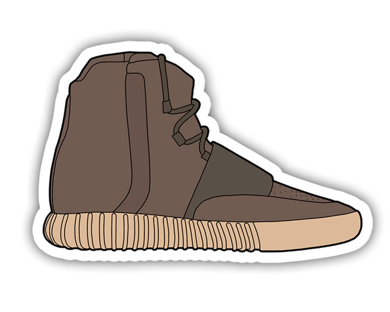 jordan shoe stickers for laptop nz