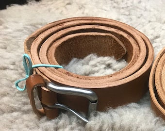 Handmade Heavy Duty Leather Belt