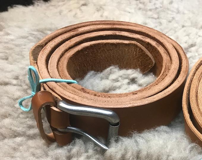 Handmade Heavy Duty Leather Belt