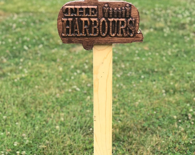 Camper Welcome wood sign
