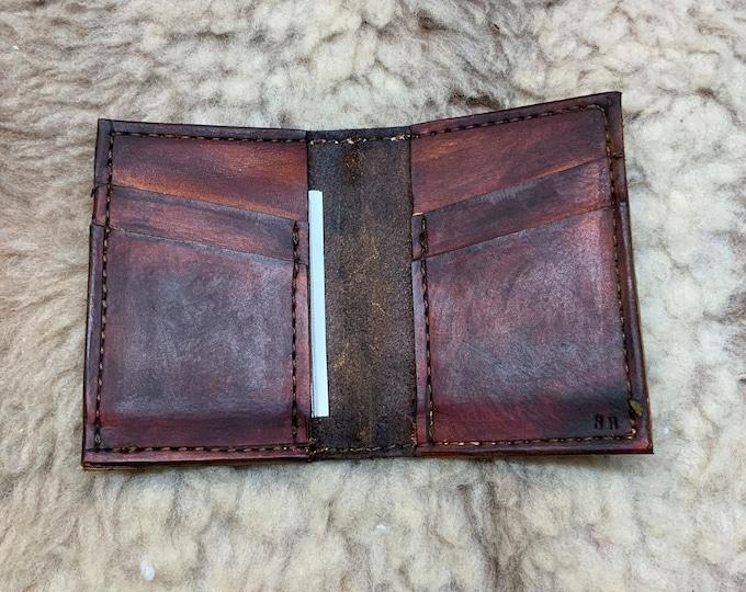 Handmade Wallet Bill Fold EDC Bi-fold Wallet Billfold