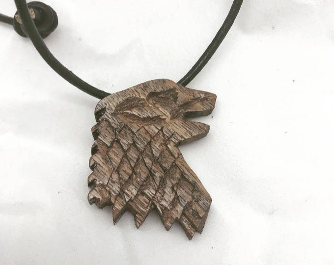 Game of Thrones House of Stark Direwolf Necklace