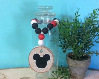 Bead Garland - wood bead garland - Disney - Mickey Mouse - tiered tray garland