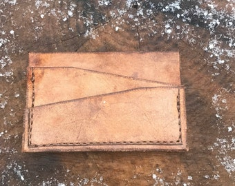 Handmade Wallet Bill Fold EDC Front Pocket Wallet Billfold