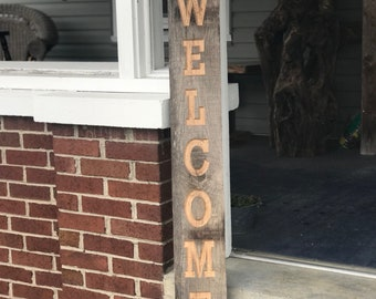Camper Welcome Barn Wood Sign